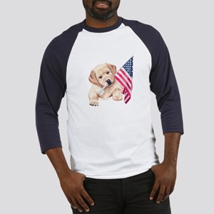Flag Bearer Yellow Lab Baseball Jersey