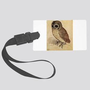 Durer The Little Owl Large Luggage Tag