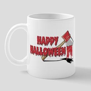 Halloween Bloody Ax Mug