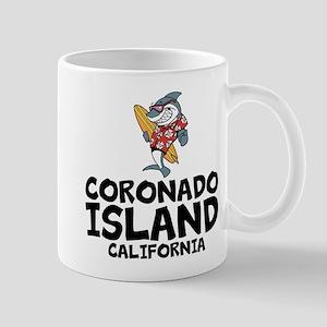 Coronado Island, California Mugs
