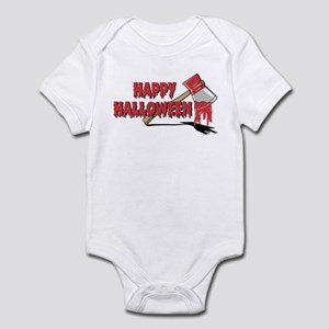 Halloween Bloody Ax Infant Bodysuit