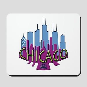 Chicago Skyline Newwave Cool Mousepad