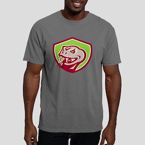 Viper Snake Serpent Head Mens Comfort Colors Shirt
