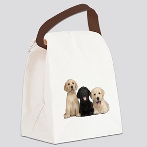 Labrador puppies Canvas Lunch Bag