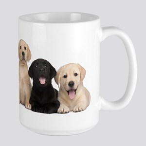 Labrador puppies Large Mug