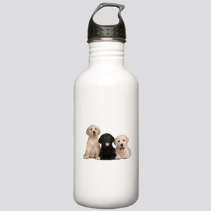 Labrador puppies Stainless Water Bottle 1.0L