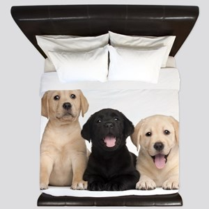 Labrador puppies King Duvet