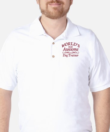Awesome Dog Trainer Golf Shirt