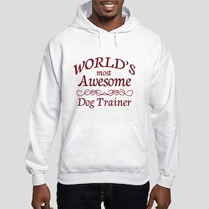 Awesome Dog Trainer Hooded Sweatshirt