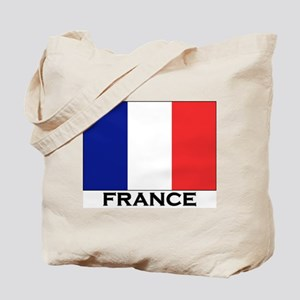 France Flag Stuff Tote Bag
