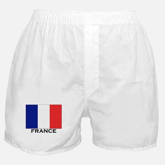 France Flag Stuff Boxer Shorts
