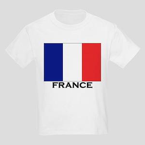 France Flag Stuff Kids T-Shirt