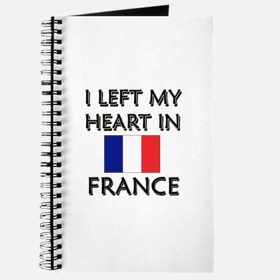 I Left My Heart In France Journal