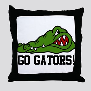 Go Gator Throw Pillow