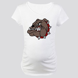 Bulldog Maternity T-Shirt