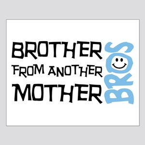 Brother Mother Smile Small Poster