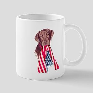 Let Me Help Chocolate Lab Pup Mug