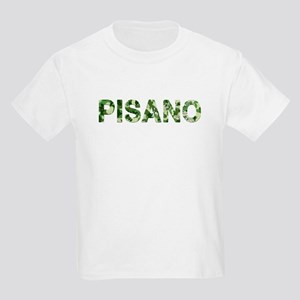 Pisano, Vintage Camo, Kids Light T-Shirt