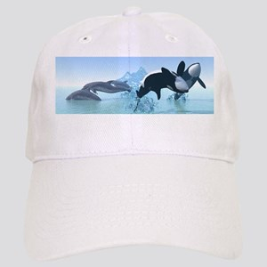 Dolphins and Orca's Cap
