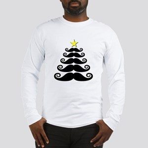 Stache-mas Tree Long Sleeve T-Shirt