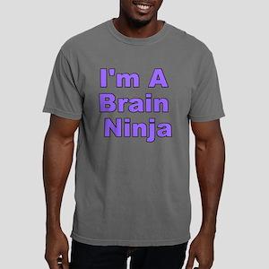 Brain Ninja Mens Comfort Colors Shirt