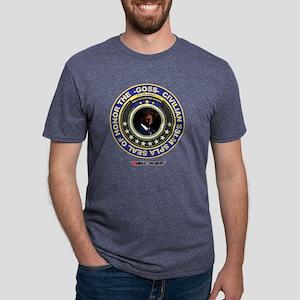 Presidential civilian seal  Mens Tri-blend T-Shirt