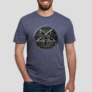pentagram_medalion2_trans.p Mens Tri-blend T-Shirt