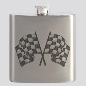 Chequered Flag Flask