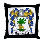 Eguizabal Coat of Arms Throw Pillow