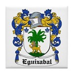 Eguizabal Coat of Arms Tile Coaster