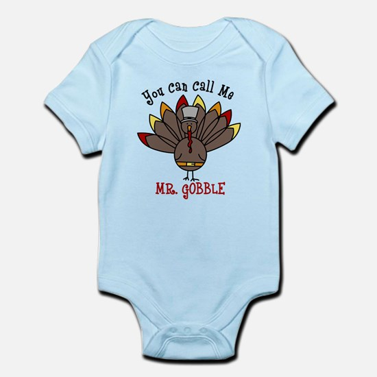 Mr. Gobble Infant Bodysuit