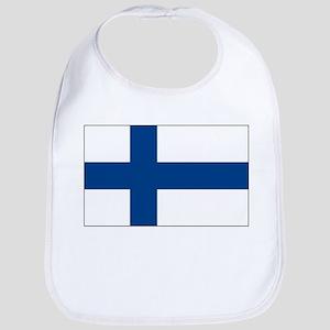 Finland Flag Picture Bib