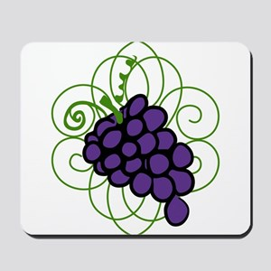Grapes Mousepad