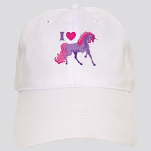 I Love Unicorns Cap