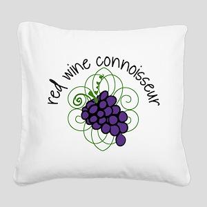 Connoisseur Square Canvas Pillow