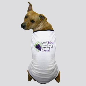 Does Wine Count Dog T-Shirt