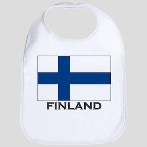 Finland Flag Stuff Bib