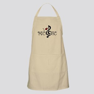 I Love Music Apron