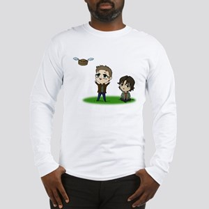 FlyingPieColored Long Sleeve T-Shirt