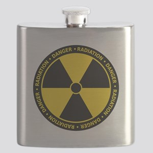 Radiation Warning Flask