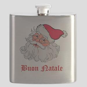 Italian Santa Flask