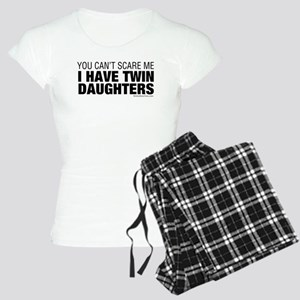Cant Scare Me I Have Twin Daughters Women's Light