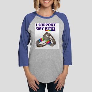 TShirt_supportgayrites001 Womens Baseball Tee