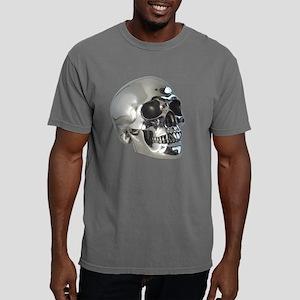 skull_silver_metalic_tra Mens Comfort Colors Shirt
