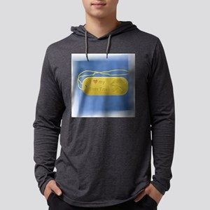 shirt 24k love my shih tzu Mens Hooded Shirt