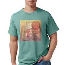 Japanese Tourism 3 Mens Comfort Colors Shirt