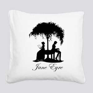 Jane Eyre Square Canvas Pillow