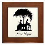 Jane Eyre Framed Tile