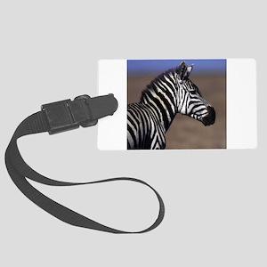 Zebra Large Luggage Tag