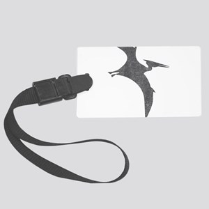 Vintage Pterodactyl Large Luggage Tag